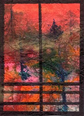 Through My Window 24 Art Print