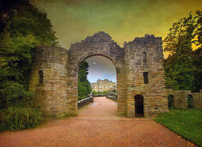 Through The Arch Art Print by Roy  McPeak