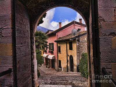 Photograph - Through The Castle Door by Brenda Kean