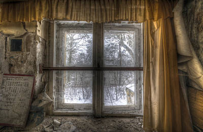 Digital Art - Through The Dirty Window by Nathan Wright