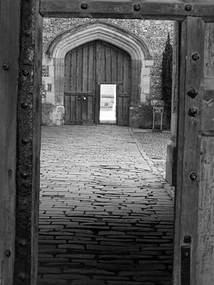 Art Print featuring the photograph Through The Door by Meaghan Troup