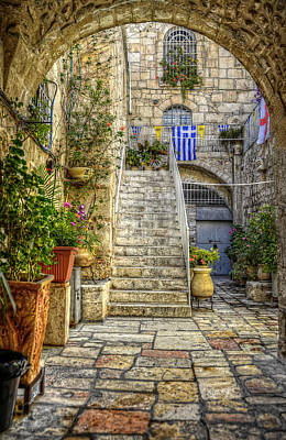 Jerusalem Photograph - Through The Doorway by Ken Smith