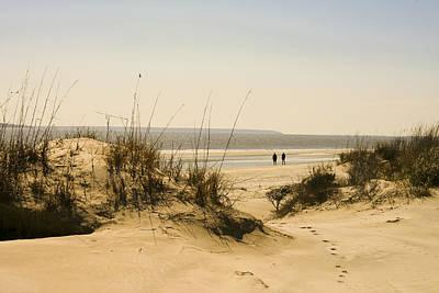 Through The Dunes Art Print by Barbara Northrup
