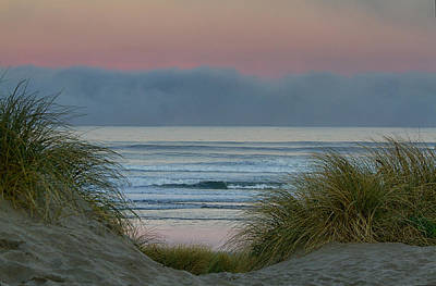 Photograph - Through The Dunes To Nehalem Beach by Robert Woodward