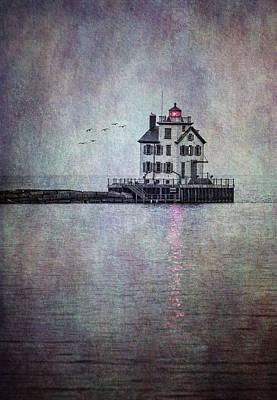 Through The Evening Mist Art Print