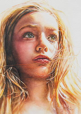 Painting - Through The Eyes Of A Child by Tracy Male