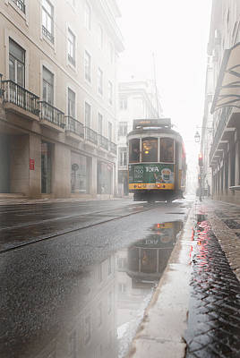 Through The Fog Art Print by Jorge Maia