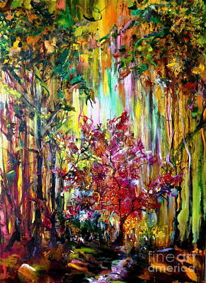 Painting - Through The Forest  by Michelle Dommer