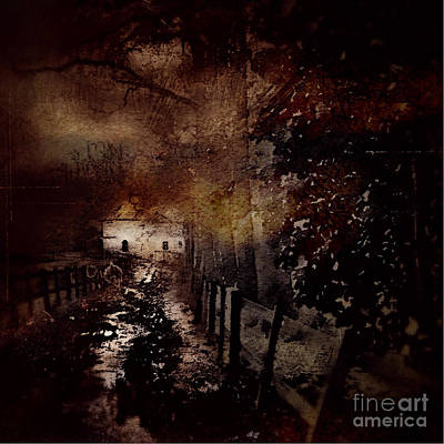 Photograph - Through The Forest Path by Milliande Demetriou