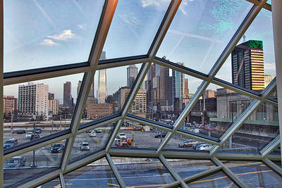 Photograph - Through The Glass At Philly by Alice Gipson