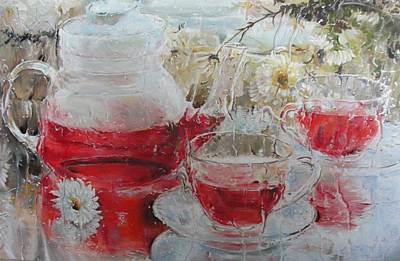 Painting - Through The Glass by Sergey Selivanov