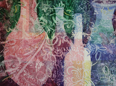 Painting - Through The Lace by Roxanne Tobaison