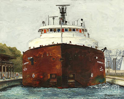 Through The Locks - Herbert C. Jackson Original by Stefanie Moran