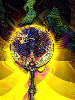 Digital Art - Through The Looking Glass by Kiki Art
