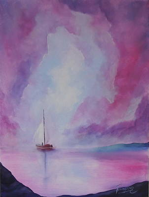 Through The Mist Original by Connie Townsend