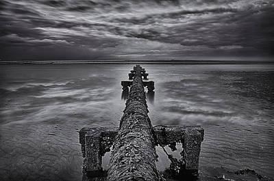 Photograph - Through The Pipeline by Jean-Noel Nicolas
