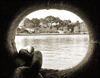 Through The Porthole Art Print by Holly Blunkall