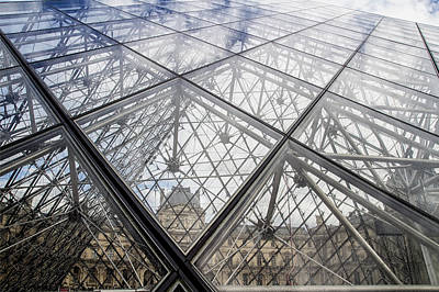 Photograph - Through The Pyramid by Georgia Fowler