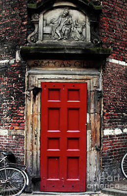 Photograph - Through The Red Door by John Rizzuto