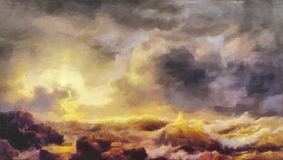 Through The Storm Original by Dan Sproul