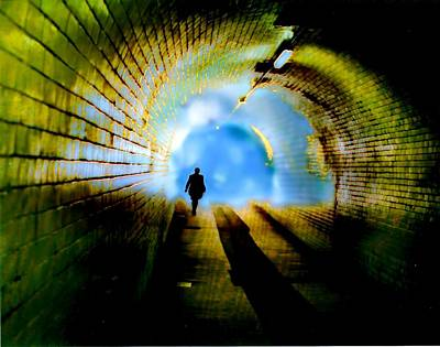 Photograph - Through The Tunnel by David Rich