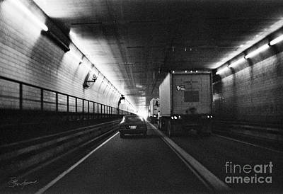 Photograph - Through The Tunnel  by Tom Brickhouse