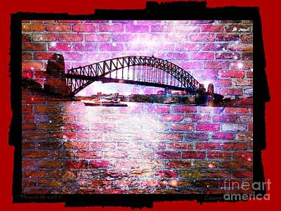 Photograph - Through The Wall 3 by Leanne Seymour
