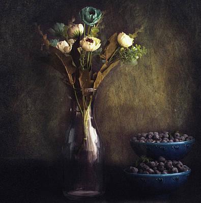 Blueberry Wall Art - Photograph - Through The Window by Farid Kazamil