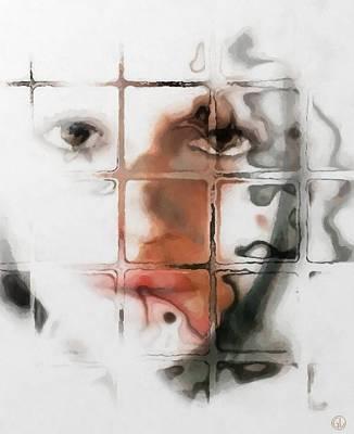 Gun Legler Digital Art Digital Art - Through The Window by Gun Legler