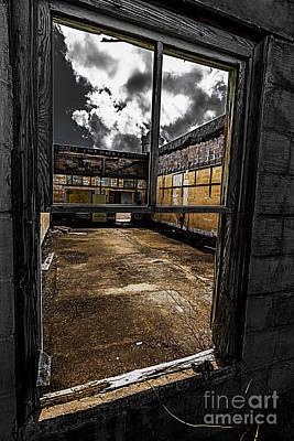 Photograph - Through The Window by Ken Frischkorn