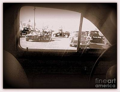 Photograph - Through The Window Of Time by Bobbee Rickard