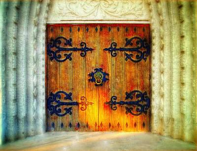 Through These Doors Art Print by Glenn McCarthy