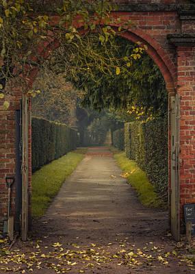 Through To The Autumn Gardens Print by Chris Fletcher