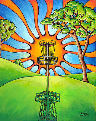 Painting - Throw Into The Light by Adam Johnson