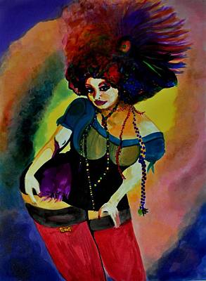 Doubloon Painting - Throw Me Somethin Mister by Jill Jacobs