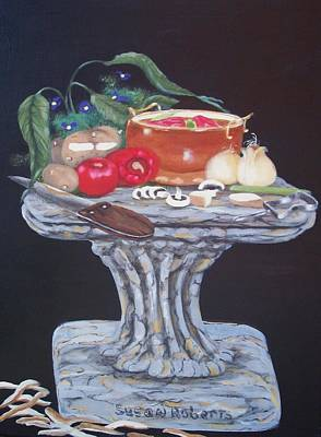 Painting - Thrown Together by Susan Roberts