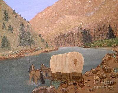 Painting - Thru The Pass by Tanja Beaver