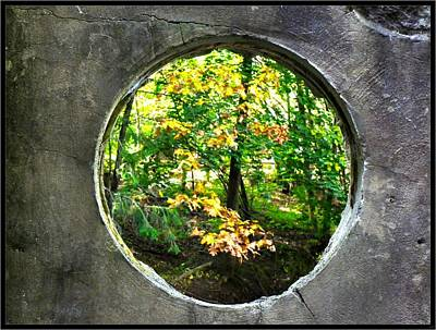 Photograph - Thru The Portal... by Tim Fillingim