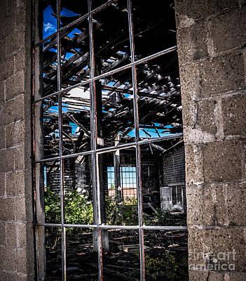 Photograph - Thru The Window by Ronald Grogan