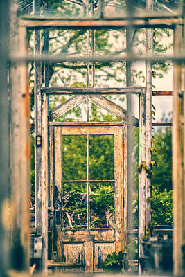 Photograph - Thru Times Window by Karol Livote