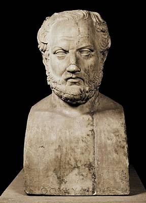Statue Portrait Photograph - Thucydides  460 Bc, Or Earlier - by Everett