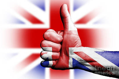 Photograph - Thumbs Up For Great Britain by Anthony Morgan