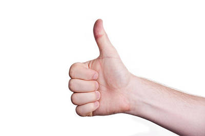 Photograph - Thumbs Up by Marek Poplawski