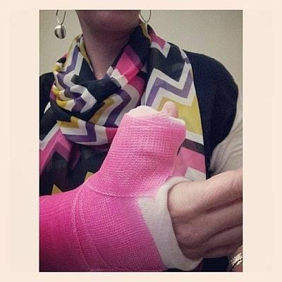 Pink Wall Art - Photograph - Thumbs Up Thursday! #pink #silpada by Chris Morgan