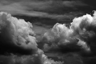 Photograph - Thunder Clouds by John Flack