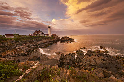 Portland Lighthouse Photograph - Thunder Cove by Joseph Rossbach