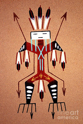 Photograph - Thunder Kachina by Paul W Faust -  Impressions of Light