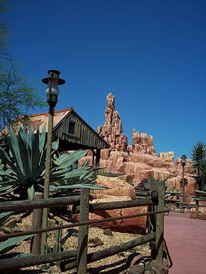 Photograph - Thunder Mountain by Georgia Hamlin