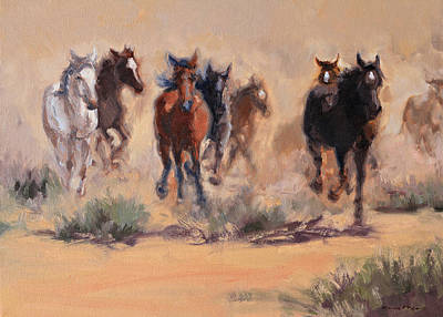 Painting - Thunder Of Freedom by Karen McLain