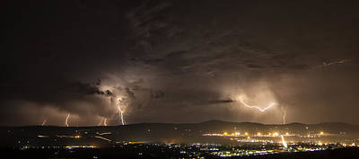 Photograph - Thunder On The Mountain by Des Jacobs